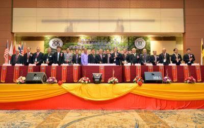 本会赴马来西亚参加第15届世林恳亲大会 暨 大厦落成庆典